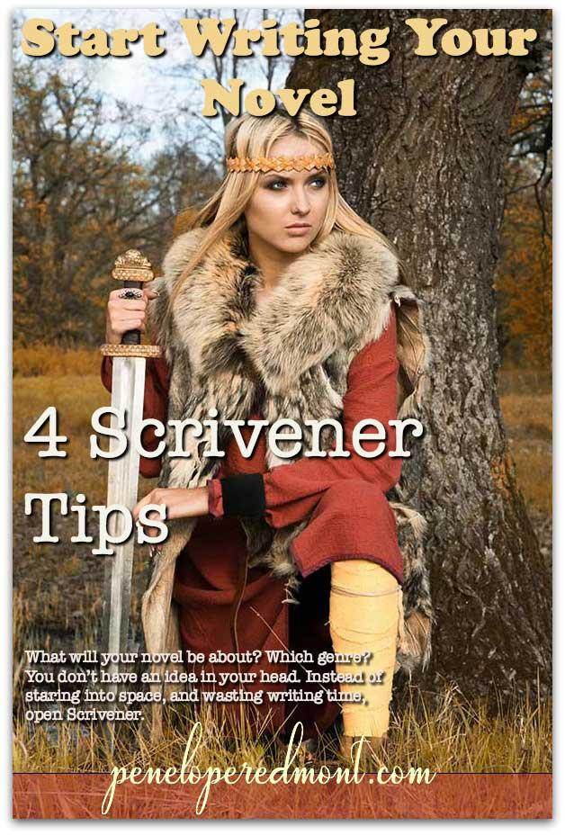 Start Writing Your Novel: 4 Scrivener Tips To Make It Easy