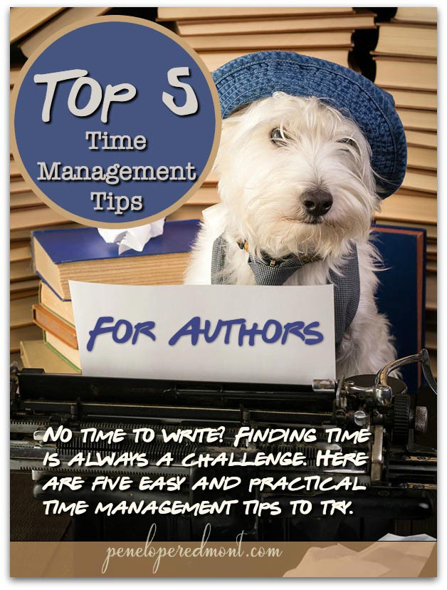 Top 5 Time Management Tips For Authors To Use Today
